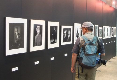 日本肖像写真家協会の展示