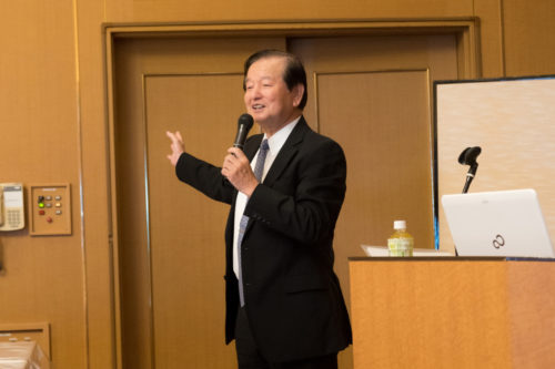 茨城県写真館協会の中泉勢望会長からもご挨拶を賜りました!
