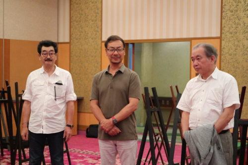 関東写真館協会の小林会長と臼田文化部長も到着