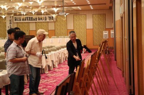 矢吹講師も到着。会場では講師の作品もたっぷりご覧いただけます。
