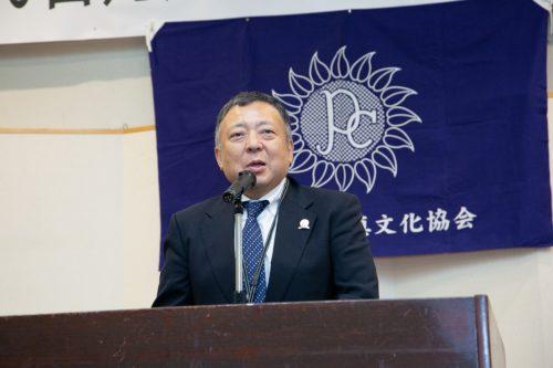 日本写真館協会 福地憲一理事長
