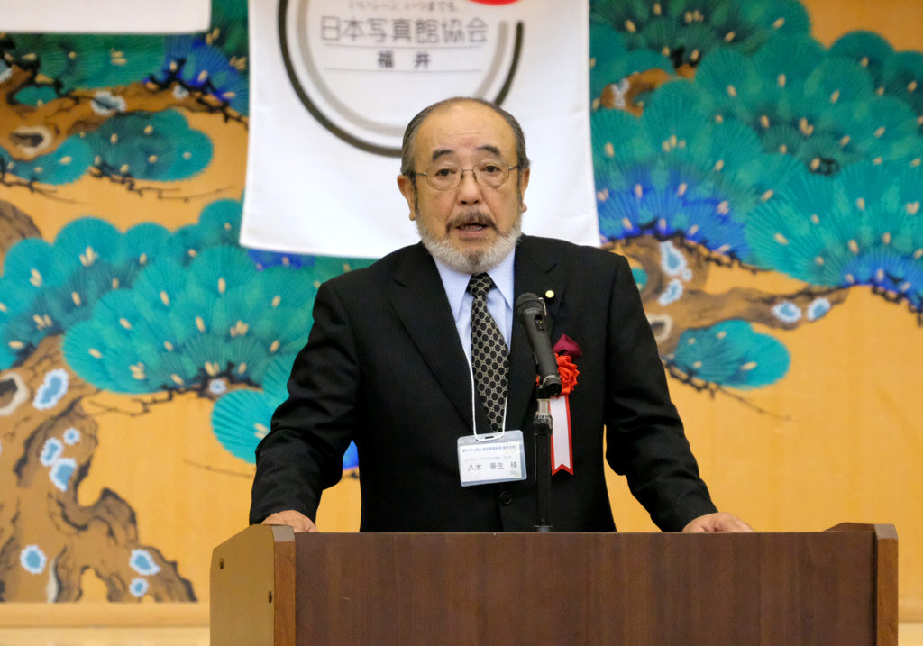 日本写真文化協会副会長・八木善生氏