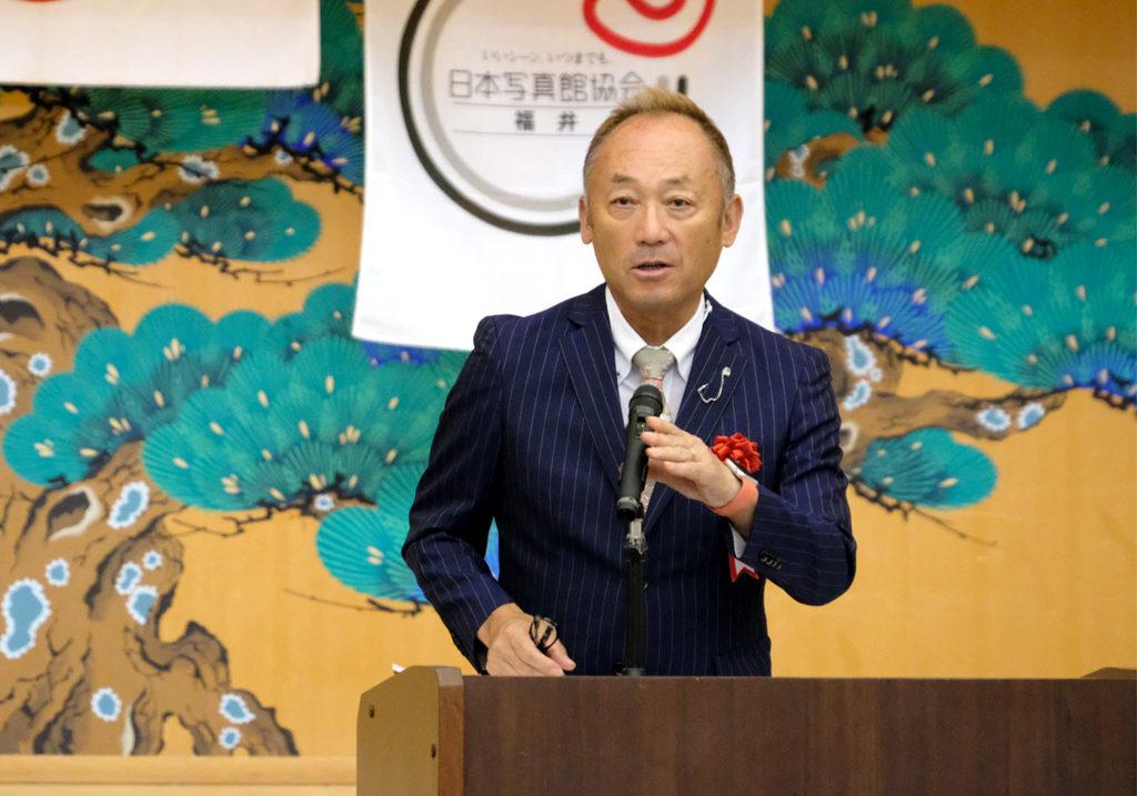 日本写真館協会副理事長・馬場裕隆氏