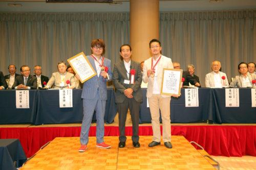 今年のゴールド作家認定は、阿部貴彦氏と井上甲太氏